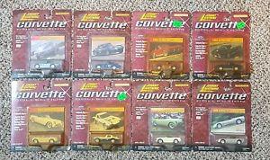 【送料無料】模型車 モデルカー スポーツカー ジョニーコルベットコレクションロットパッケージ