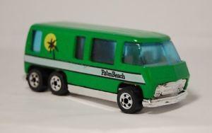 【送料無料】模型車 モデルカー スポーツカー ホットホイールパームビーチモーターホームグリーンミントhot wheels 1976 gmc palm beach motorhome green, near mint gorgeous hong kong