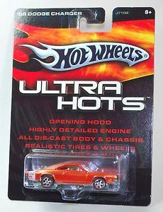 【送料無料】模型車 モデルカー スポーツカー ホットホイールウルトラライダーhot wheels ultra hots 69 dodge charger real riders 164