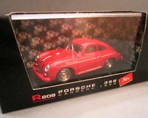 【送料無料】模型車 モデルカー スポーツカー ハムポルシェカレラneues angebotbrumm porsche 356c carrera 1952 red 143 nib