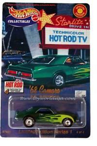 【送料無料】模型車 モデルカー スポーツカー ホットホイールカマロホットロッドホットロッド2000 hot wheels 68 camaro ltd ed hot rod 4 decades of hot rods ser1 4of4