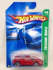 【送料無料】模型車 モデルカー スポーツカー ホットホイールトレジャーハント#エンツォフェラーリhot wheels 2007 treasure hunt car 9 red enzo ferrari mattel 164