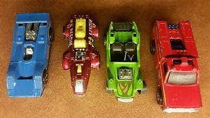 【送料無料】模型車 モデルカー スポーツカー ビンテージホットホイールコレクションレスキュー4x 19691978 vintage hot wheels cars vehicles lot collection m8 rescue amp; icet