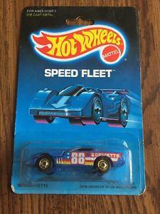 【送料無料】模型車 モデルカー スポーツカー ホットホイールコルベットhot wheels speed fleet 80s corvette 1988 rwb