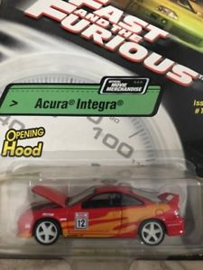 【送料無料】模型車 モデルカー スポーツカー アキュラインテグラ#オープニングフードrevell the fast and the furious acura integra 101 863027 opening hood nip