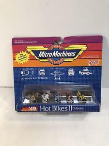 【送料無料】模型車 モデルカー スポーツカー マイクロマシン#ホットバイクコレクションセットmicro machines 1989 49 hot bikes ii collection fun set