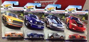 【送料無料】模型車 モデルカー スポーツカー ホットホイールフォードパフォーマンスセット hot wheels ford performance complete set of 8 vehicles