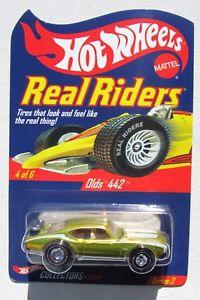 【送料無料】模型車 モデルカー スポーツカー ホットホイールリアルライダーシリーズ#hot wheels rlc real riders series 3 rlt olds 442 4 of 6 0930010,500