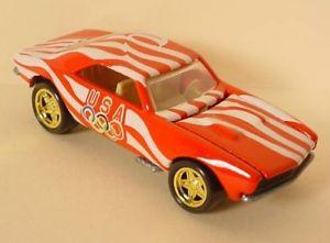 【送料無料】模型車 モデルカー スポーツカー オリンピックユーザーneues angebothot wheels olympics red 1967 camaro loose