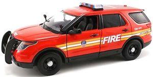 【送料無料】模型車 モデルカー スポーツカー ヒートニューヨークフォードユーティリティmotormax 124 fdny york city fire department ford pi utility suv ny71736