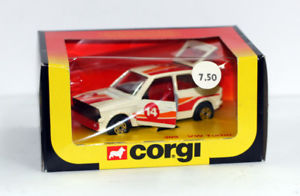 【送料無料】模型車 モデルカー スポーツカー コーギーターボァーneues angebotoriginal 1981 uk made corgi toys 309 vw turbo mib