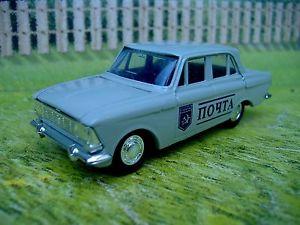 【送料無料】模型車 モデルカー スポーツカー タンタルロシア143 tantal russia moskvich 412 post