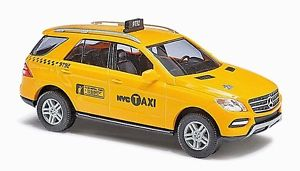 【送料無料】模型車 モデルカー スポーツカー ホブッシュ#ベンツクラスニューヨークタクシーho 187 busch 43314 mercedesbenz mlclass, nyc taxi