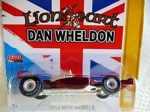 【送料無料】模型車 モデルカー スポーツカー ホットホイールダンウェルドンエラーhot wheels missing tampo dan wheldon special commemorative lionheart dw1 error