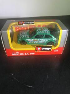 【送料無料】模型車 モデルカー スポーツカー #カップ143 bburago 4167 bmw m3 gt cup boxed qb3010 tic tac burago