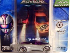【送料無料】模型車 モデルカー スポーツカー ホットホイールレーサー#2005 hot wheels acceleracers silencerz 2 nitrium