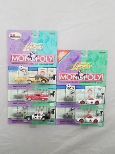 【送料無料】模型車 モデルカー スポーツカー ジョニーシボレーコルベットウィリーニップクラウンビックロットjohnny lightning monopoly 164 57 chevy, corvette, willy, crown vic lot of 5 nip
