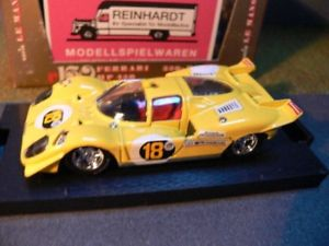 【送料無料】模型車 モデルカー スポーツカー ハムフェラーリイエロー143 brumm r150 ferrari 330p4 hp 450 1967 gelb