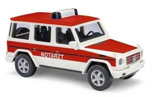 【送料無料】模型車 モデルカー スポーツカー ブッシュメルセデスbusch pkw mercedes g 90 notarzt 51411