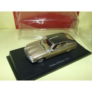 【送料無料】模型車 モデルカー スポーツカー シトロエンユニバーサルスーブリスターcitroen gs birotor 1974 universal hobbies 143 sous blister