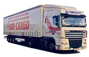 【送料無料】模型車 モデルカー スポーツカー トラックawm lkw daf xf 95 sc gaksz blomquist nor cargo