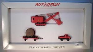 【送料無料】模型車 モデルカー スポーツカー セットオートドロームクラシック#wiking 187 set 99042 autodrom klassische baufahrzeuge x ovp 225