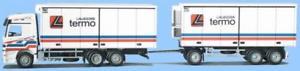 【送料無料】模型車 モデルカー スポーツカー トラックアクトロスawm lkw mb actros l khlwkhz termo transport