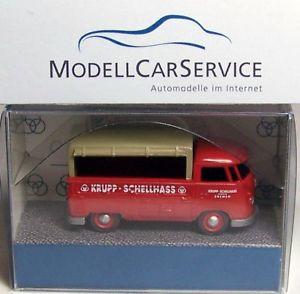 【送料無料】模型車 モデルカー スポーツカー モデルフォルクスワーゲンプラットフォームトラッククルップブレーメンwiking sondermodell 187 h0 vw t1 pritschenwagen kruppschellhass bremen
