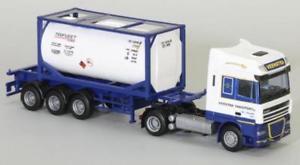 【送料無料】模型車 モデルカー スポーツカー トラックタンクawm lkw daf xf 105 sscaerop tankcontsz veenstra tr