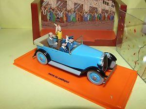 【送料無料】模型車 モデルカー スポーツカー タンタンシリーズアトラスvoiture tintin srie 2 n15 voiture apparat en amerique atlas 143