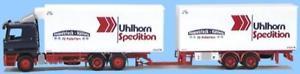 【送料無料】模型車 モデルカー スポーツカー トラックアクトロスawm lkw mb actros l ktahz uhlhorn spedition