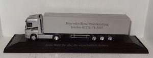 【送料無料】模型車 モデルカー スポーツカー アクトロスセミトレーラトタベンツherpa mb actros 1846 mercedesbenz profiberatung sattelzug 187 in pc r1_3_21