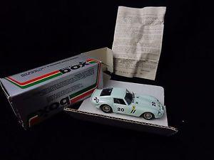 【送料無料】模型車 モデルカー スポーツカー イタリアフェラーリモデルボックスカールマンmodel box car 143 italy ferrari gto 62 seafoam green le mans