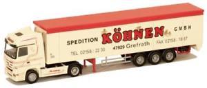 【送料無料】模型車 モデルカー スポーツカー トラックアクトロススライドawm lkw mb actros mp3 lhaerop schubbodensz khnen