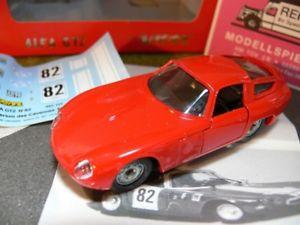 【送料無料】模型車 モデルカー スポーツカー ラリーアルファステッカー143 solido verem alfa gtz rallye criterium des cevennes 1965 mit decals rot 652