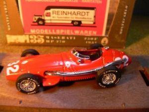【送料無料】模型車 モデルカー スポーツカー ハムマセラティマセラティ143 brumm r135 maserati hp 270 rot