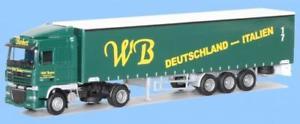 【送料無料】模型車 モデルカー スポーツカー トラックawm lkw daf xf 105 sc aerop gaksz wb willi barbett