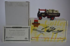 【送料無料】模型車 モデルカー スポーツカー マッチヤスヨークシャースチームワゴンmatchbox yas04 yorkshire steam wagon modellauto ovp