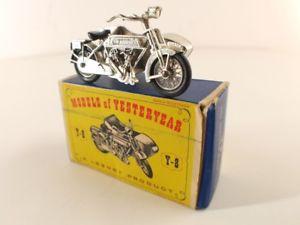 【送料無料】模型車 モデルカー スポーツカー サンビームオートバイモトマッチモデルmatchbox models of yesteryear n y8 sunbeam motor cycle moto en boiteinbox