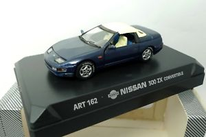 【送料無料】模型車 モデルカー スポーツカー nissan 300 zx detail car convertible art 162 detail cars 143