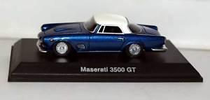 【送料無料】模型車 モデルカー スポーツカー ボスモデルマセラティグアテマラbosmodels 87125 maserati 3500 gt resina 187