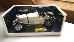 【送料無料】模型車 モデルカー スポーツカー メルセデスモデルカーmercedes sskl 1931 3002 modellauto 118 bburago in ovp
