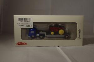 【送料無料】模型車 モデルカー スポーツカー ポルシェトターメルセデスベンツローダschuco 450128900 mercedesbenz tieflader mit porsche traktor