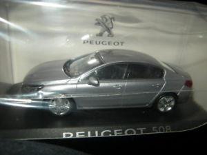 【送料無料】模型車 モデルカー スポーツカー プジョー143 norev peugeot 508 mivie 2014 gris artense nr 475811 ovp