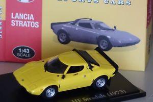 【送料無料】模型車 モデルカー スポーツカー ランチアイエローアトラスクラシックスポーツlancia stratos hf stradale 1973 gelb 143 atlas classic sport neu amp; ovp 937