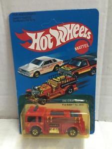 【送料無料】模型車 モデルカー スポーツカー マテルホットホイールカードmattel hot wheels fire eater moc, 1981 us card