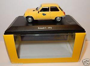 【送料無料】模型車 モデルカー スポーツカー ボックスルノーnorev renault 5 r5 1976 postes poste ptt 143 in luxe box