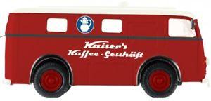 【送料無料】模型車 モデルカー スポーツカー パッケージカイザーコーヒー187 brekina elektro paketwagen kaisers kaffee 58305