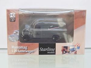 【送料無料】模型車 モデルカー スポーツカー ボックスサービスbrekina 58151 187 hanomag l 28 dbp fernmeldedienst neu in ovp