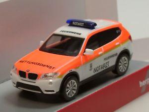 【送料無料】模型車 モデルカー スポーツカー ミュンヘンherpa bmw x3 feuerwehr mnchen notarzt 093378 187